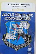 Mig-25 Foxbat Landing Gear for 1/48th Scale Revell Model SAC 48104