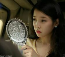 Elegance Decorative a hand Mirror for Makeup, Travel, Pocket /  Made in Korea