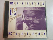 MC JEFFOX IT'S A BREEZE 1991 12 TRK CD ELECTRONIC HOUSE HIP HOP R&B SOUL HTF OOP
