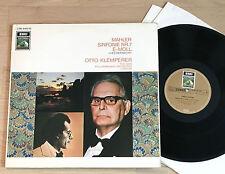 MAHLER Symphony No.7 OTTO KLEMPERER 1stPress 1960s HMV 2LP MINT