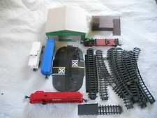 Ertl Farm Country Toy MINT Soo Line Train Tractor Grain Shed Dock Set 1/64 WORKS