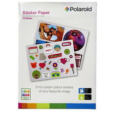 A4 Creative Sticker White Paper - Polaroid - 10 Sheets - Stickers, Photo.......