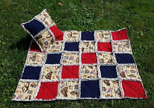 34 x 40 Special Forces Lap Rag Quilt Set, Military Blanket, U.S. Army