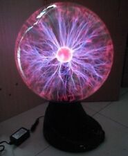 "16"" Plasma Ball Globe Sphere Magic Lightning Light Lamp Party Bar Sound Activate"
