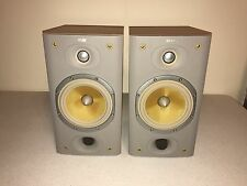 B&W Bowers & Wilkins DM601 S3 BOOKSHELF SPEAKERS SORRENTO CONSECUTIVE SERIAL #