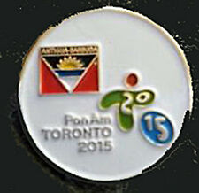 TORONTO 2015 Pan Am Olympic Games Limited Antigua & Barbuda team staff  pin