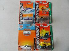 MATCHBOX FIRE RESCUE SET OF 4 DIFFERENT BOATS & HELICOPTER FP018 #25