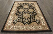 TRADITIONAL PERSIAN ALEXANDRITE RUG 9.8X6.6FT BLACK ORIENTAL RUGS CARPET A2ZRUG