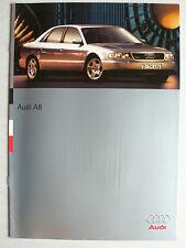 Prospekt Audi A8 2.8 / 3.7 / 4.2, 6.1995, 12 Seiten