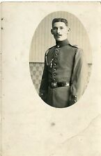 CARTE POSTALE / POSTCARD / CARTE PHOTO MILITAIRE / 2 SCANS