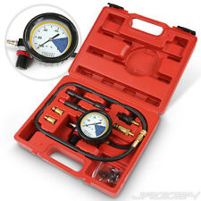 Petrol and Diesel Engine Compression Tester Kit Gauge Car Motorcycle Garage Tool