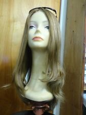 "European Multidirectional 22"" Lace front Wig Straight Sheitel Dirty Blonde 16-10"