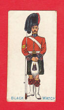 W. A. & A. C. CHURCHMAN - EXTREMELY RARE MILITARY CARD - BLACK  WATCH  -  1902