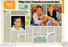 Coupure de presse Clipping 1986 (2 pages) Philippe Léotard
