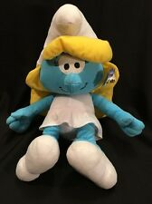 "The Smurfs 14"" Smurfette Stuffed Plush Doll Toy"