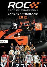 Race of Champions - Bangkok Thailand 2012 (New DVD) Schumacher Vettel Lorenzo