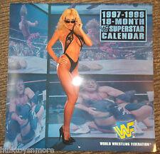 WWF Calendar 1997/1998 Sable Stone Cold Steve Austin Sunny Bret Hart Goldust WWE