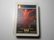 VINTAGE PLAYING CARDS 1930's GOODALL SPIRIT OF COAL GAS LIGHT HEAT POWER 52 + 1J