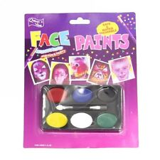 New Halloween Party Clown Face Painting 6 Colors Greasepaint Make Up Set Prop