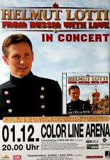 LOTTI, HELMUT - 2004 - Konzertplakat - From Russia with Love - Tourposter - Conc