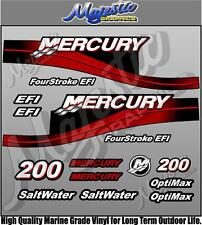 MERCURY 200hp - EFI - OUTBOARD DECALS