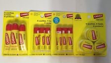 12 Carmex Lip Balm Original & Cherry  .25 Oz
