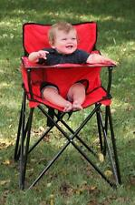 "Ciao Red ciao baby portable highchair HB2005 baby Chair 22"" x 22"" x 34"" NEW"