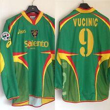 Maglia calcio US Lecce  2005/06 n 9 Mirko Vucinic Serie A