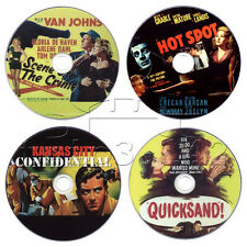 Film-Noir Krimi Film DVD Collection Hot Spot, Quicksand, Kansas City Confid