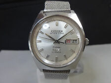Vintage 1968 CITIZEN Automatic watch [SEVEN STAR Deluxe 7] 21J