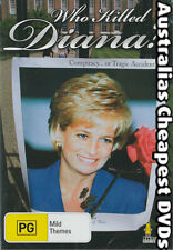 Who Killed Diana? DVD NEW, FREE POST WITHIN AUSTRALIA REGION ALL