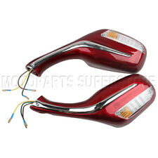 8mm Electric Rearview Mirror 50cc 150cc 250cc GY6 Scooter Moped Pair Mirrors