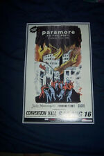 """Paramore """"The Last Riot"""" Tour Poster"""