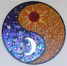 4'X4' Marble Dining round Table Top Carnelian Inlay Mosaic Christmas Home Decor