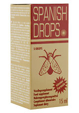 SPANISH DROPS FLY ORGASM LIBIDO Love Drops Aphrodisiac15ml Sex Aid