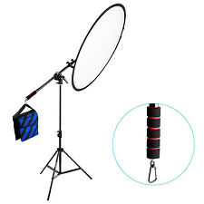 "Neewer Photo Studio Lighting 73"" Reflector Boom Arm Stand with Rubber Handle"