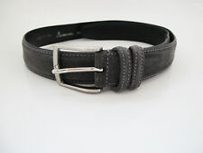 Andersons Original Suede Leather Belt Grey