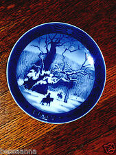 Royal Copenhagen Plate The Royal Oak 1967
