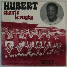 Rugby 45 tours Hubert chante le rugby