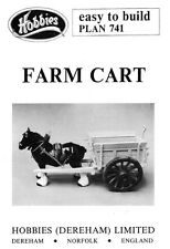 Hobbies Easy to Build Plan of Model Farm Cart P741