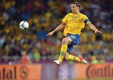 Zlatan Ibrahimovic Swedish Superstar Volley POSTER