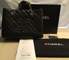 Chanel Handbag Grand Shopper Tote w/ Dust Cover & Retail Box 100% Authentic Bag