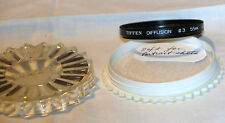 TIFFEN DIFFUSION FILTER # 3 55MM FOR CAMERA LENS GREAT ITEM IN ORIGINAL CASE