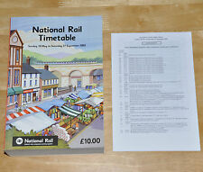 National Rail Timetable Summer 2003