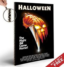 Halloween Modern Movie Poster Michael Myers A4 GLOSSY HIGH QUALITY PRINT Decor