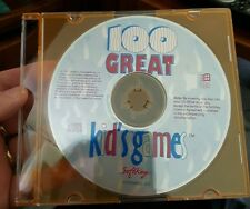 100 Great Kid's Games (Disc only) PC GAME- FREE POST