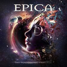 EPICA - THE HOLOGRAPHIC PRINCIPLE - LIMITED EDITION -  2 CD NEU