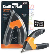 GUILL 'o' NAIL GUILLOTINE CLPPERS EASY TO US - SHARPLES & GRANT- FOR DOGS & CATS