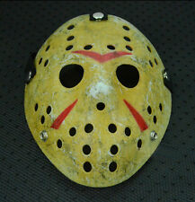 Rare Old Jason Halloween Mask Funny Voorhees Friday The 13th Hockey Scary Mask