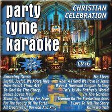 PARTY TYME KARAOKE-CHRISTIAN CELEBRTION CD NEW